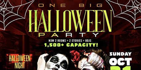 ONE BIG HALLOWEEN PARTY tickets