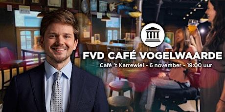 FVD Café Vogelwaarde met Gideon van Meijeren tickets