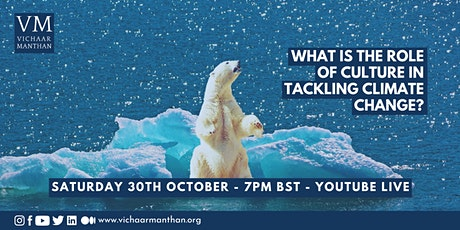 What is the role of culture in tackling climate change? tickets