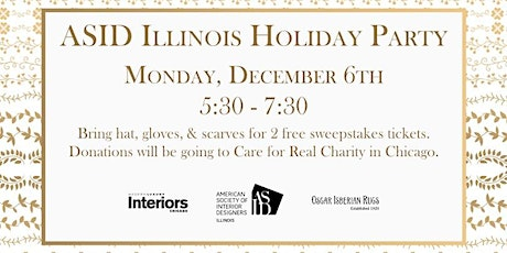 ASID Illinois Holiday Party tickets