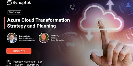 Azure Cloud Transformation Strategy and Planning tickets
