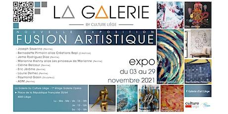 """Invitation au vernissage de l'exposition """"Fusion Artistique"""" tickets"""