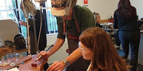 Workshop zilversmeden Zondag (4 uur) tickets
