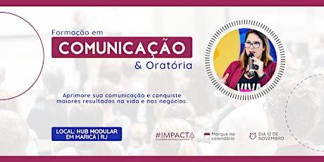 Formação em Comunicação & Oratória ingressos