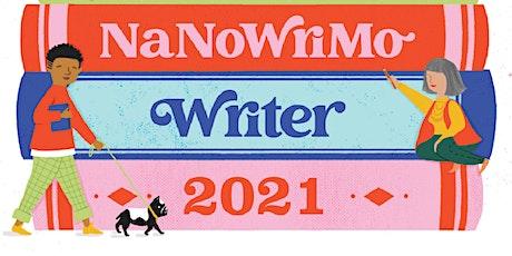 NaNoWriMo Write-In tickets