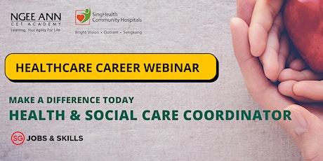 SGUnited Skills (SGUS) Health & Social Care Coordinator tickets