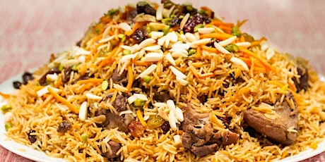 Afghan Cuisine Cooking Class to Support Afghan Refugees tickets
