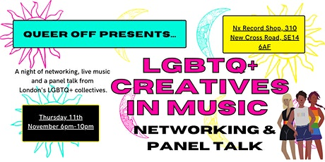 LGBTQ+ Creatives in Music tickets