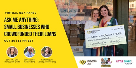 Ask Me Anything: Small Business Owners Who Crowdfunded Their Loans tickets