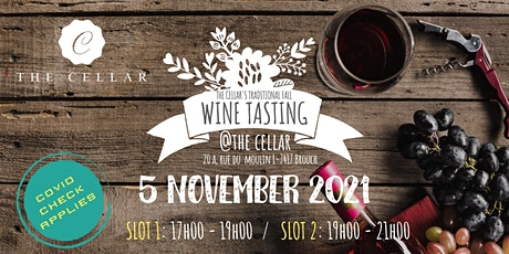 the cellar's traditional FALL WINE TASTING billets