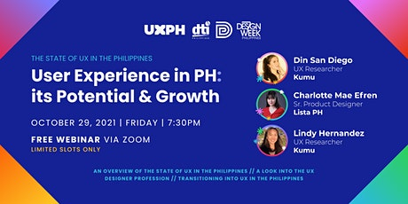 The State of UX in the Philippines tickets