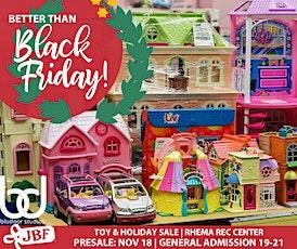 11/18: Community Presale Ticket - JBF Broken Arrow Holiday & Toy Sale tickets