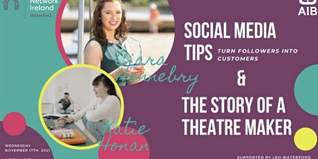 Social Media Tips and The Story of a Theatre Maker tickets