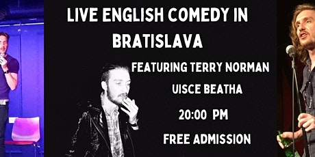 Free Comedy In Bratislava: Terry Norman (IRL) tickets