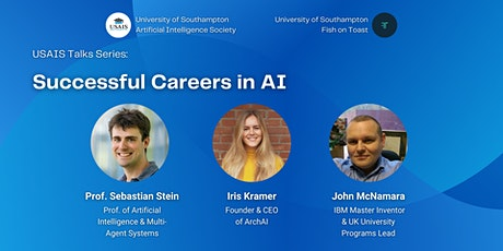 USAIS Talks - Successful Careers in AI (with Fish on Toast) tickets