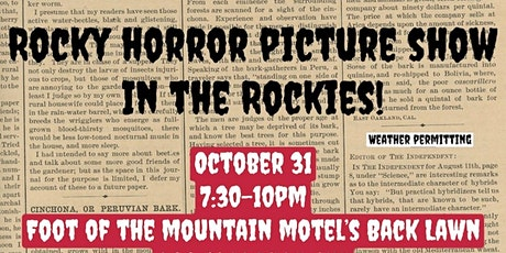 Come watch Rocky Horror at the Foot of the Mountain Motel! tickets
