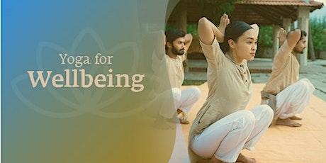Yoga For Wellbeing: Free Webinar tickets