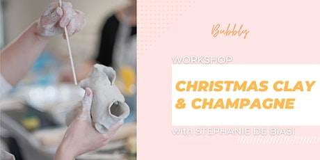 Christmas Clay & Champagne workshop tickets