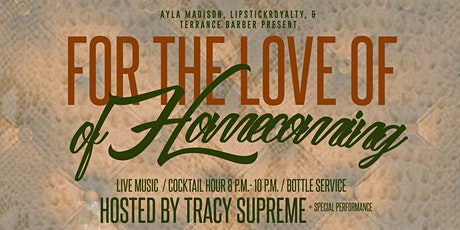 For the Love of Homecoming tickets