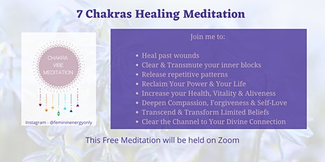 Chakra Healing Meditation tickets