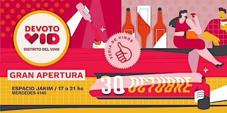 """DevotoVid - Feria de Vinos  en el  """"Distrito del Vino""""  de Bs. As. entradas"""