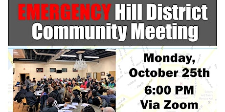 Hill District Emergency Community Meeting tickets