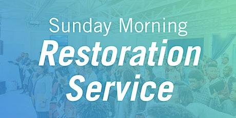 ANFGC Halifax Sunday Morning Restoration Service tickets