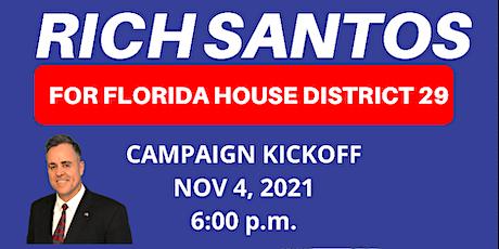 Rich Santos Campaign Kick Off Party tickets