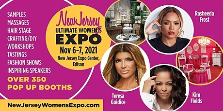 New Jersey Women's Expo Beauty + Fashion + Pop Up Shops + Crafting, Celebs! tickets