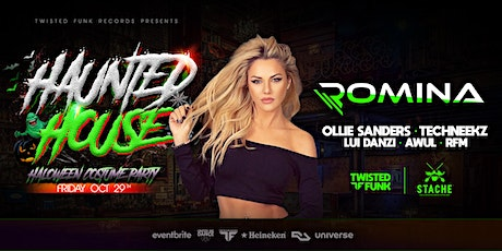Twisted Funk Presents: Haunted House Costume Party with Romina & Friends tickets