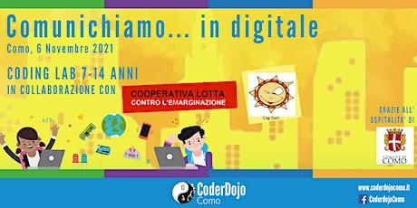 Comunichiamo ... in digitale - Coding Lab in Como biglietti