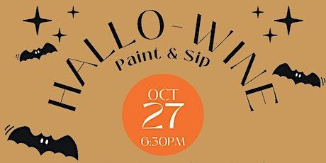Hallo-wine Paint & Sip @ Split Pine! tickets