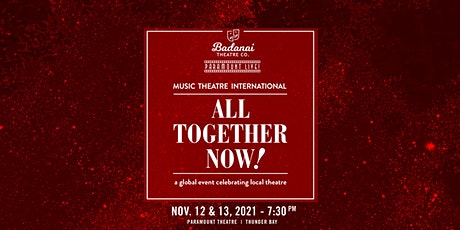 All Together Now - Saturday Performance tickets