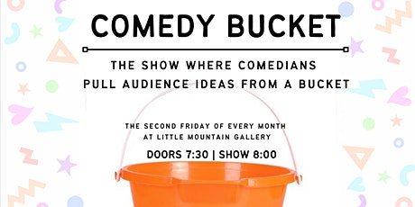 Comedy Bucket - Nov 12 tickets