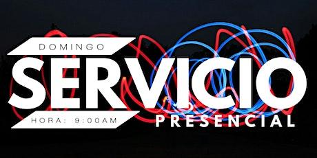 Servicio Presencial Domingo 24/10/2021 entradas