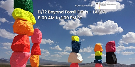 Beyond Fossil Fuels - Just Transition in California and Germany tickets