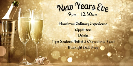 Ring in New Years Eve @ 1909 Culinary Academy - December 31 tickets