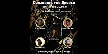 Conjuring the Sacred: Poets of the Diaspora tickets