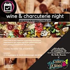 Wine  & Charcuterie night tickets
