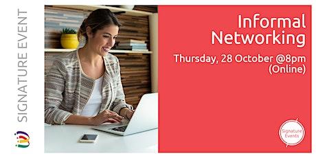 Informal Networking - October (online) tickets