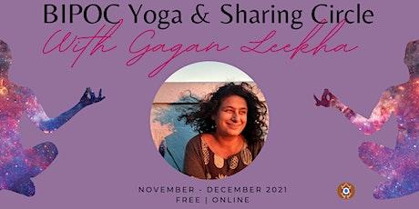 FREE| BIPOC Online Yoga & Sharing Circle w/ Gagan Leekha tickets