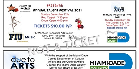 1ERA FUNCION -ANNUAL TALENT FESTIVAL-PERFORMING ARTS tickets