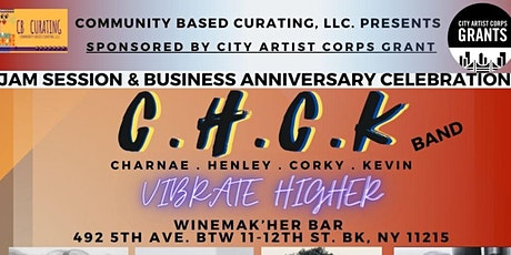 Jam Session & Business Anniversary Celebration in Brooklyn | Oct. 30 tickets
