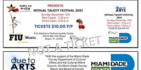 2da FUNCION ANNUAL TALENT FESTIVAL-PERFORMING ARTS tickets