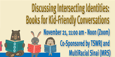 Temple Sinai '21 Children's Book Event - Discussing Intersecting Identities tickets
