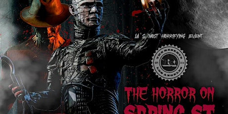 THE HORROR on SPRING ST @ THE RESERVE DTLA / HALLOWEEN NIGHT tickets
