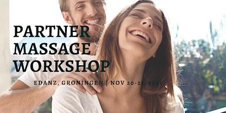 Partner Massage Workshop tickets