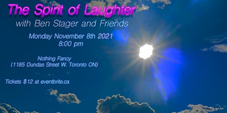 The Spirit of Laughter (Stand-Up Comedy Show) tickets