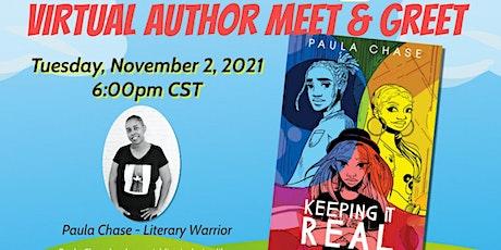 Eyeseeme Spotlight: Paula Chase, Literary Warrior tickets