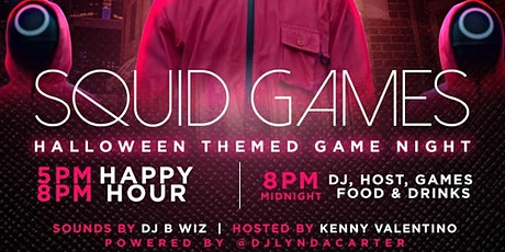 SQUID GAMES HALLOWEEN THEMED GAME NIGHT tickets